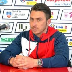 """Poenaru: """"Ionuț Popa, principalul punct forte al UTA-ei. Echipa arădeană a crescut de la meci la meci"""""""