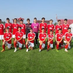Viitorul 2004 a debutat cu un succes în Liga Elitelor Under 15 chiar în fața arădenilor de la Atletico 2005