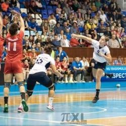 Primul eșec s-a conturat doar pe final în derby: CSM Târgu Mureș - Crișul Chișineu Criș 36-30