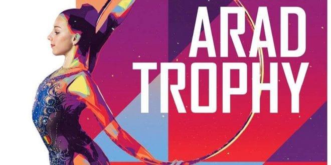 """Gimnastele de la ritmică dau recital la """"Arad Trophy"""", 250 de concurente din cinci țări se întrec la Sala Sporturilor Victoria"""