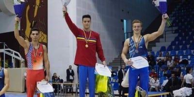 Gimnastul Adelin Kotrong e multiplu medaliat naţional