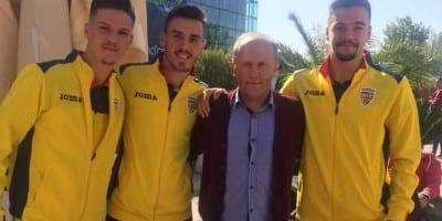 Gol pentru Adi Petre în victoria ce duce naționala de tineret la un campionat european după 21 de ani