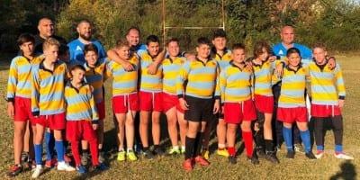Tinerii rugbiști ai CS Universitatea Arad au câștigat zona de la Sibiu și vor să se bată pentru medaliile naționale