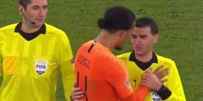 Hațegan – în lacrimi pentru decesul mamei sale la finalul partidei Germania – Olanda, van Dijk l-a strâns în brațe pe arbitrul arădean