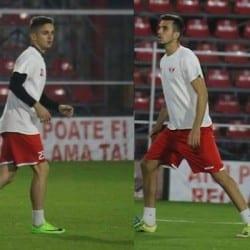 Mijlocașul Mihai Maxin și fundașul albanez, Elvis Prenci, ultimele noutăți la UTA