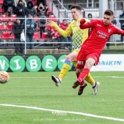 """Costin, omul meciului cu Daco-Getica: """"Nu mă pot bucura pentru că nu am scos decât un egal și am mai ratat două ocazii pe lângă golul marcat"""""""