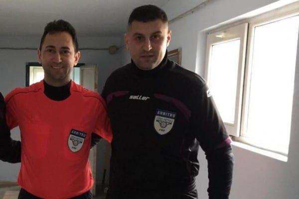 """Arbitrii arădeni și grupările de Liga 4-a au decis: Bogdan și Vesa – """"centralul"""", respectiv """"asistentul"""" anului 2018"""