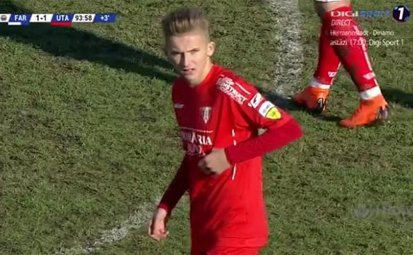 """Utistul Vulturar, peste Dobrin în clasamentul celor mai tineri debutanți în fotbalul românesc: """"Bucuros, onorat, voi munci cum am făcut-o dintotdeauna, de mic"""""""