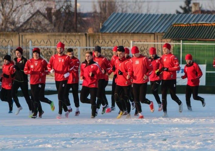 """Crișul - ultimul adversar confirmat în amicalele iernii pentru utiști, cantonament local de zece zile cu """"cartierul general"""" la Hotel Coandi"""