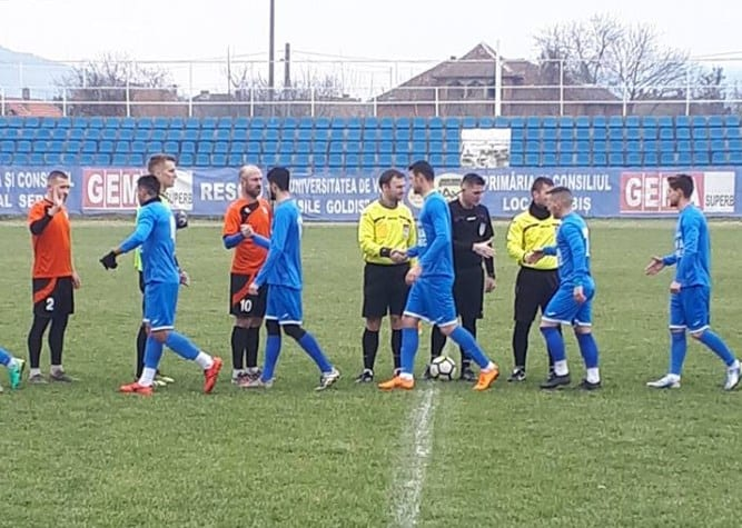 Derby-ul amical al Crișului Alb, adjudecat de trupa lui Todea: Național Sebiș - Crișul Chișineu-Criș  2-1