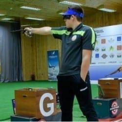 """Codrean, la opt lungimi distanță de un loc în finala """"europenelor"""" de pistol aer comprimat"""