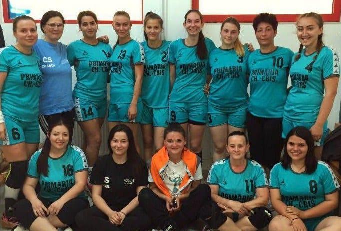 Înfrângere și în debut de retur pentru handbalistele de la Crișul