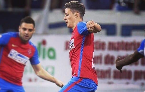 Man, la primul gol pentru Steaua