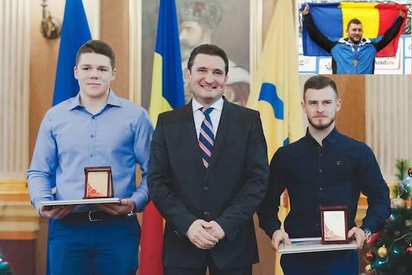 Andrei Gag e sportivul arădean al anului 2016: doar doi laureați din Top 10 – prezenți la festivitatea de premiere