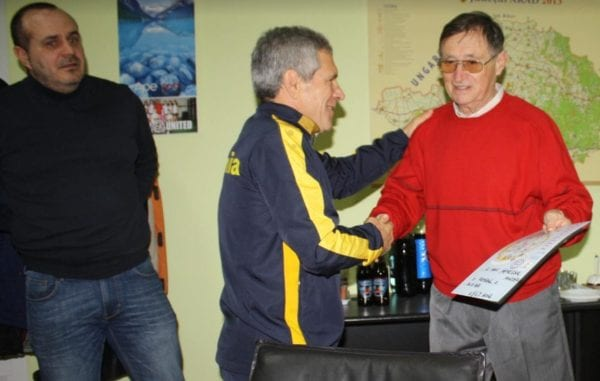 DJST Arad apreciază veteranii: Moldovean și Henegar, premiați la final de an