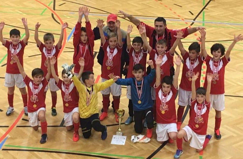 Viitorul 2005 a făcut spectacol la Graz: Puștii lui Maghici – la primul trofeu internațional