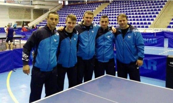Băieții Aradului, la un baraj distanță de promovarea în Superliga Națională de tenis de masă