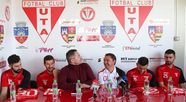 """Grădinariu știe de ce UTA atrage și motivează: """"Am ajuns să avem al doilea palmares din România după Dinamo"""""""