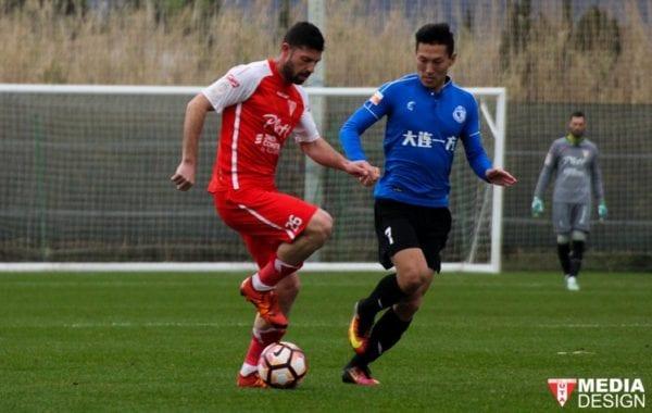 Arădenii, la ultimul amical în Spania: UTA – Dalian Yifang 1-0, final