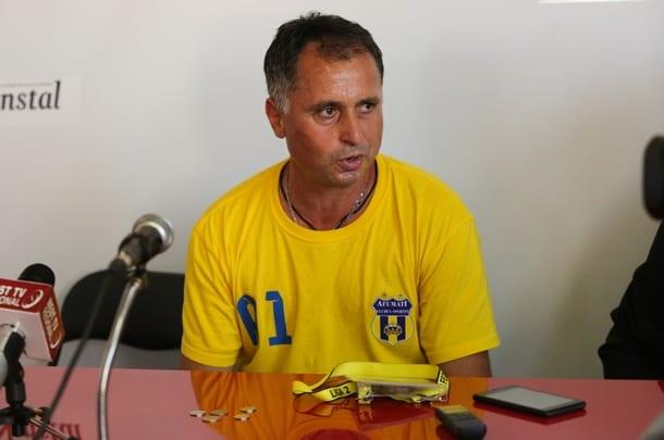 """Antrenorul Afumațiului ar dori-o pe UTA în Liga 1,dar cu toate asta vrea s-o bată sâmbătă: """"Sper să-și revină după meciul cu noi"""""""
