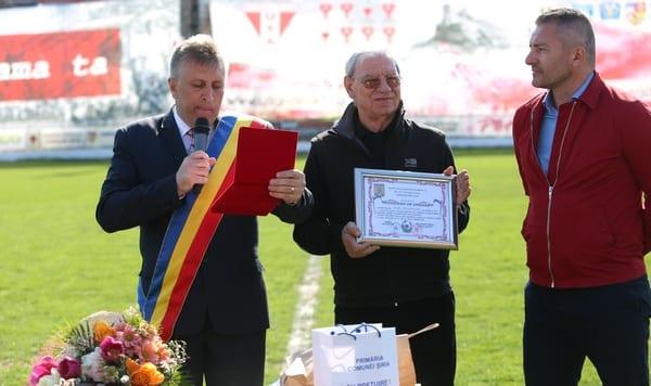 """Emerich Jenei a devenit cetățean de onoare al Șiriei: """"Am UTA în suflet"""""""