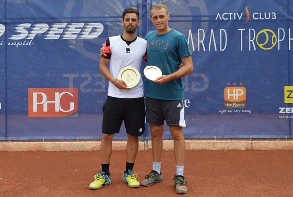 Frunză l-a detronat pe Luncanu la Activ Club Arad Trophy
