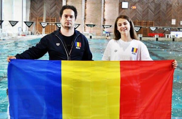 """Arădeanca Alexia Bășcărău va înota """"sub tricolor"""""""
