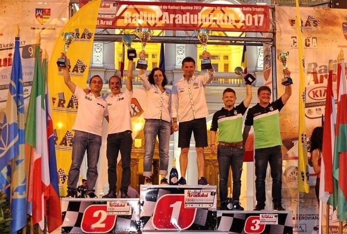 Marișca – Poenaru, marii câștigătorii ai Raliului Aradului  2017