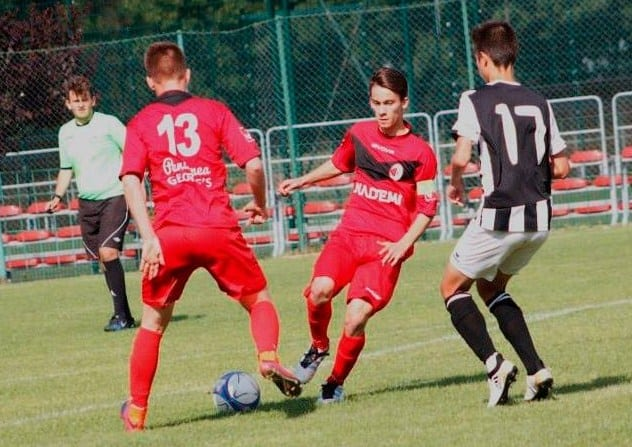 Pe locul 4 la semifinala națională rezervată juniorilor A1: Unirea Sântana – Victoria Carei 0-1