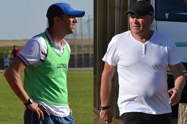 """Sabău: """"Ca să promovezi în Liga 3-a, trebuie să arăți ca o ehipă de Liga 3-a"""" v.s. Vig: """"Plec de la Diosig, luptele de la AJF Bihor au cam afectat fotbalul"""""""
