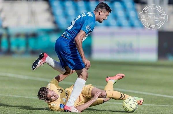 Petre a debutat cu pasă de gol la Esbjerg! 3700 de fani – la primul meci de campionat al danezilor