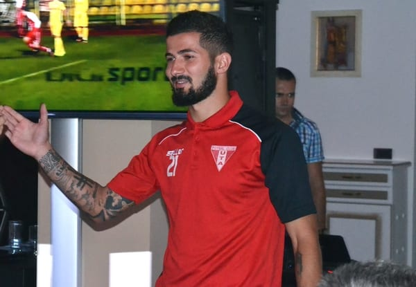 """Buleică a început sezonul titular în Liga 1, acum vrea să se întoarcă în elită cu UTA: """"Mă integrez rapid, sunt pregătit să debutez chiar sâmbătă"""""""