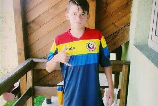 """Arădeanul Jurj, printre cei mai buni 40 de fotbaliști Under 15 din țară: """"Merită să îmbrace tricoul naționalei"""""""
