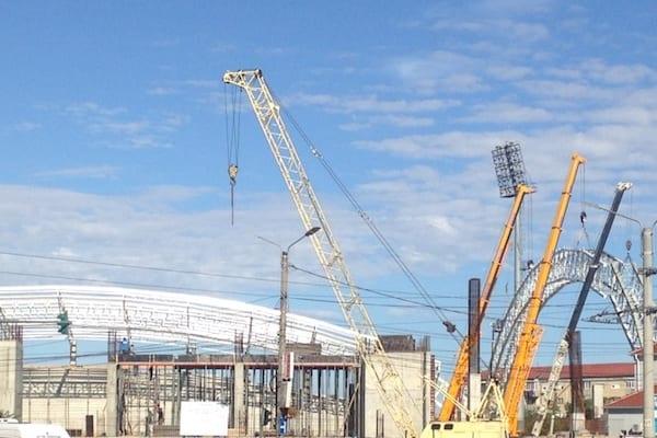 Stadionul ˝Francisc Neuman˝ va fi predat Companiei Naționale de Investiții pentru finalizare, data fiind incertă