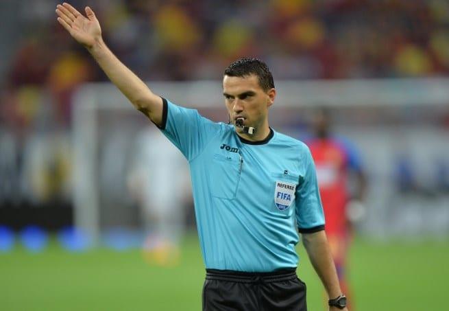 """Arădeanul Hațegan rămâne singurul arbitru român din """"Elite Category"""" și în sezonul următor"""