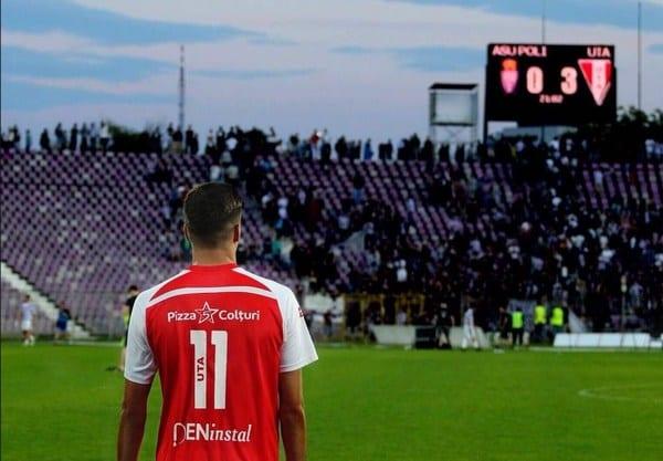 """Încurajări de la Adi Petre înainte de derby: """"Cu inima alături de culorile alb-roșii"""""""