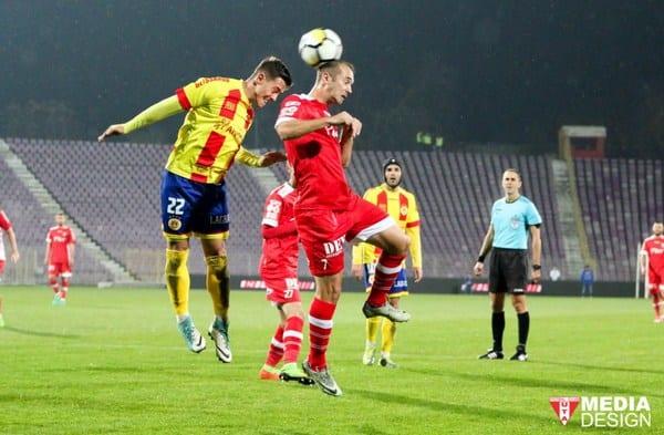 """Curtuiuș a ajuns la cota șase goluri stagionale: """"Important pentru moralul meu, altfel etapele trec și rămânem foarte departe de ceea ce se vrea la UTA"""""""