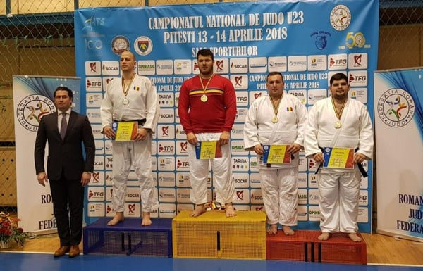 Judoka Emeric Bogoș e vicecampion național de tineret, Robert Nagy s-a mulțumit cu bronzul