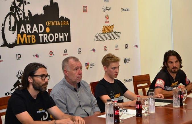"""Cetatea Șiria și dealurile din zonă, cadrul perfect pentru prima ediție """"Arad Mountain Bike Trophy"""""""