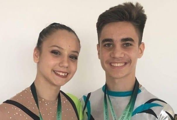 Rugină și Țavoc – medalii mondiale pentru gimnastica aerobică arădeană