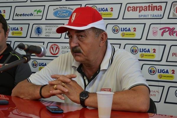 """Popa a trecut la statutul de antrenor interimar la UTA: """"Nu știu dacă am jucat foarte bine, dar echipa este salvată și a ajuns la un golaveraj pozitiv"""""""
