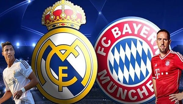 Ponturi pariuri Real Madrid – Bayern Munchen