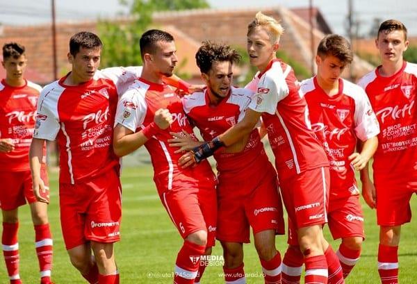 Calficare en-fanfare în semifinalele Ligii Elitelor: UTA Under 17 – FC Star Sport Pitești 7-0
