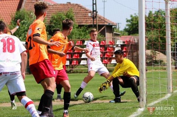 Repetiție cu public pentru turneul semifinal: UTA Under 19 – Sticla Arieșul Turda 9-1