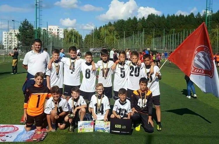 Viitorul 2006, peste UTA în finala Transilvania Football Festival