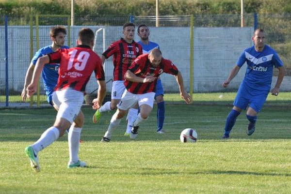 """Una """"manita"""" alb-roșie pentru calificarea în finala Cupei: Unirea Sântana – Victoria Zăbrani  1-5"""