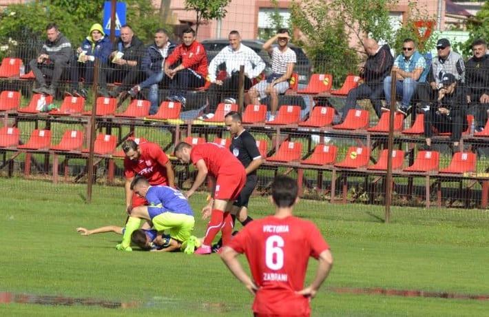 """Stamate și Bătrân susțin că Zăbrani – Sântana nu trebuia să înceapă: """"A fost țurcă, nu fotbal, din păcate cei de la AJF au decis să se joace!"""" Stanciu a fost externat!"""