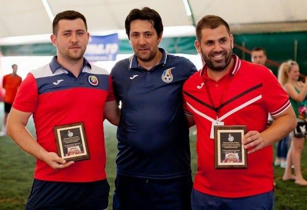 FC Premiere, AC Luciano și Șoimii Șimand luptă chiar la Arad pentru un loc în finala campionatului național de mini-fotbal
