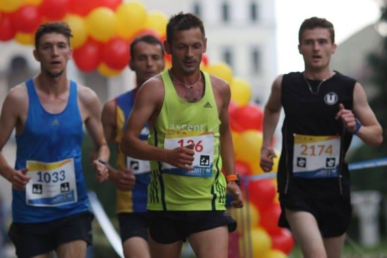 Sorin Mîneran le-a luat trofeul timișorenilor la Maratonul Liberty UVT