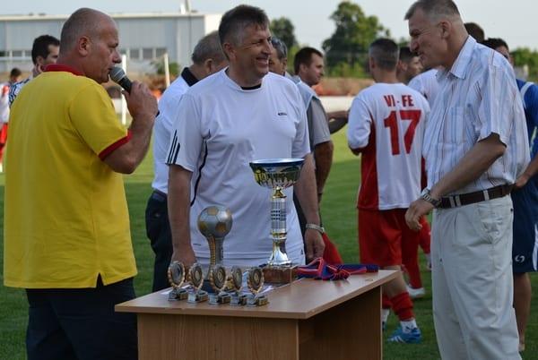 Crișul și Zăbrani își dispută Cupa sâmbătă seara, la Șiria
